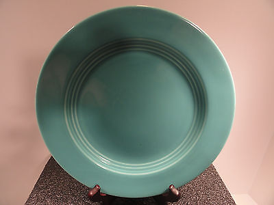 Homer Lauglin Turquoise Harlequin Salad / Dessert Plate