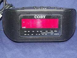 Digital Alarm Clock Radio, Coby AM/FM/AUX