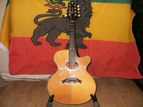 Crafter M70-E Electro/Accoustic Mandolin with hard case