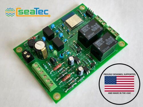 Wi-Fi Relay & Digital/Analog Input Circuit Board via HTML or Modbus TCP for PLC