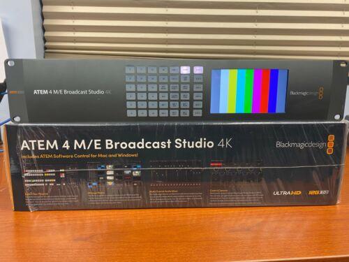 Blackmagic Design ATEM 4 M/E Broadcast 4K Video Switcher 12G SDI 1080to 4K 60FPS
