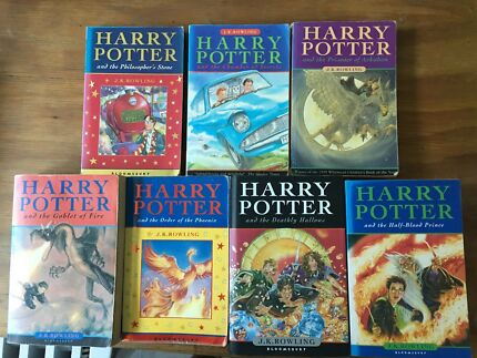 Harry Potter series books