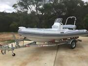 Aurora 5.5 meter rigid Inflatable Boat Paradise Point Gold Coast North Preview