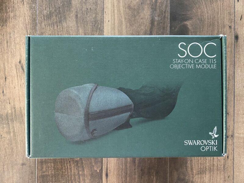 2020 Swarovski SOC Stay On Case For 115mm Objective ATX STX BTX Spotting Scope