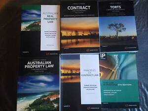 Law Textbooks - Property, Contract and Torts Adelaide CBD Adelaide City Preview