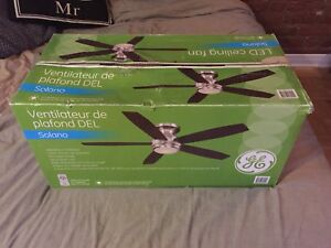 Led ceiling fan GE with remote control
