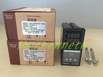 Digital Pid Temperature Controller Rex-c400 Thermocouple Input Relayssr Output