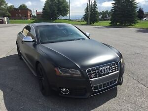 Audi S5 2011 noir mat full load