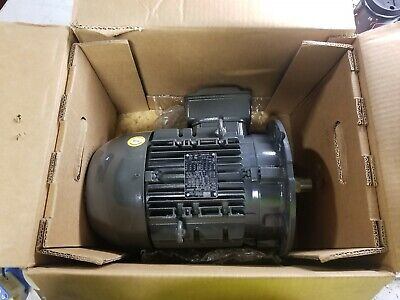 New Weg 5.5 Hp Electric Ac Motor 230460 Vac 1755 Rpm 3 Phase 1-18 Dia
