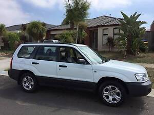 RWC - 2003 Subaru Forester Wagon AUTOMATIC Point Cook Wyndham Area Preview