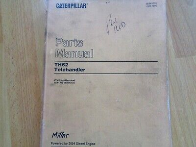 Caterpillar Th62 Telehandler Factory Parts Manual Oem 4tm1 - Up