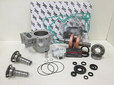 YAMAHA YZ 450F 500CC BIG BORE/STROKER ENGINE REBUILD KIT WITH STAGE 1 CAMS 06-09