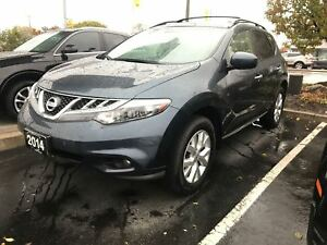 2014 Nissan Murano SL, No Accidents, Camera, Sunroof
