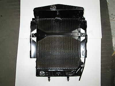Brand New Heavy Duty Radiator Assembly  MG TD TC Quality All Metal Reproduction
