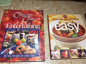 cook book lot all hardcover