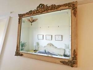 Gold Beveled Ornate Mirror Petersham Marrickville Area Preview