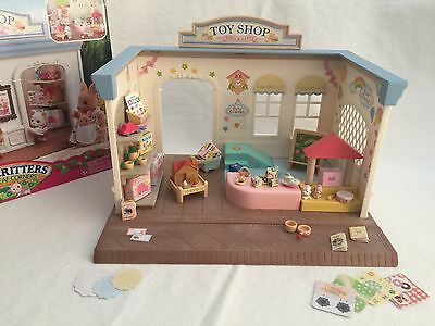 Calico Critters Toy Shop Store Play Set