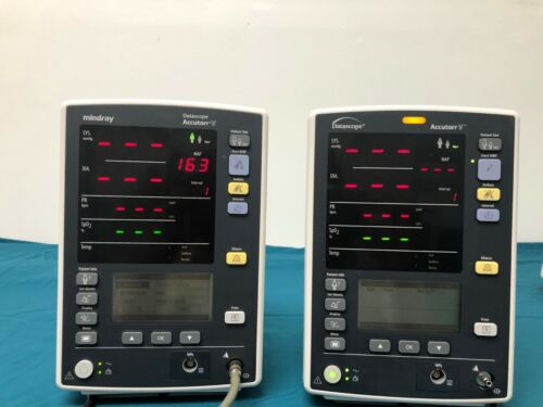 Datascope Mindray Accutorr V Patient Monitor