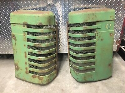 John Deere A Grills Pair Used Tractor Antique Part B G D Gp