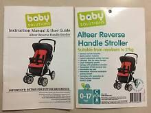 Alteer Reverse Handle Stroller Girraween Parramatta Area Preview