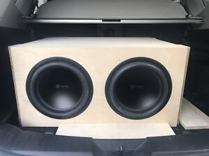 Audiopulse LM12 subs, box, amp