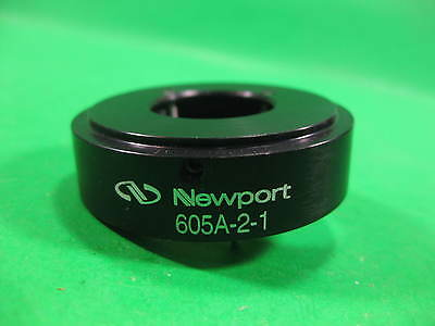 Newport Nrc Optical Diameter Adapter Gimbal Mount 605-2 -- 605a-2-1 -- Used
