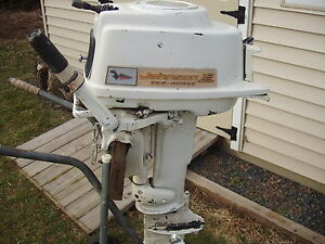 johnson vintage 18hp outboard motors 1960 hood other parts