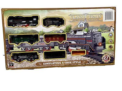 New Train Set Kids Toys Children Christmas Xmas Gift Decorations Train