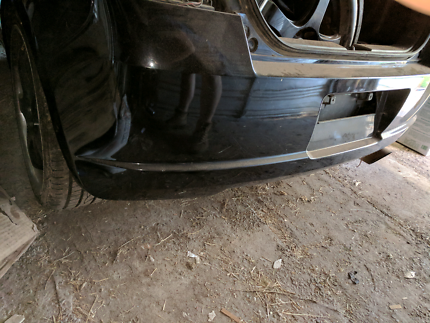 Rear bumper off 2006 Suzuki Swift hatchback