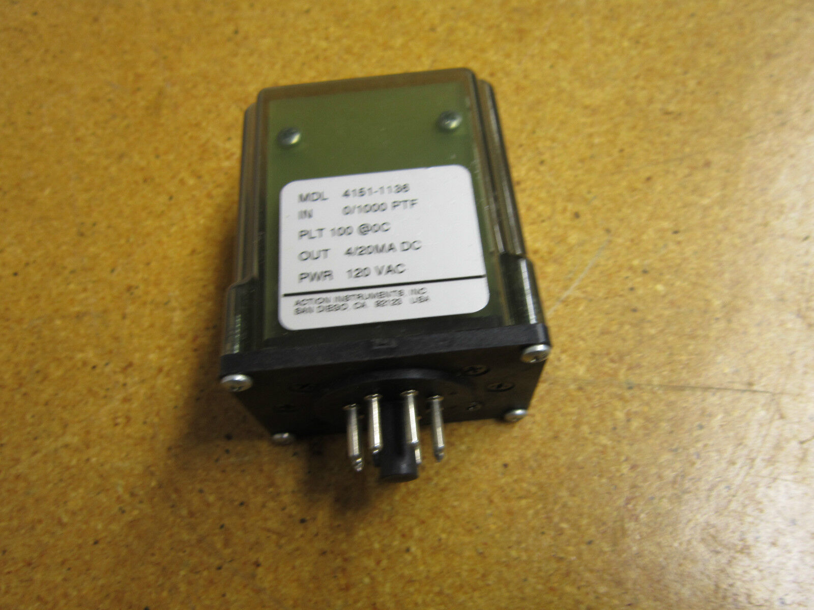 Potter /& Brumfield R10-E5218-1 Relay 24VDC 8 Pin Gently Used