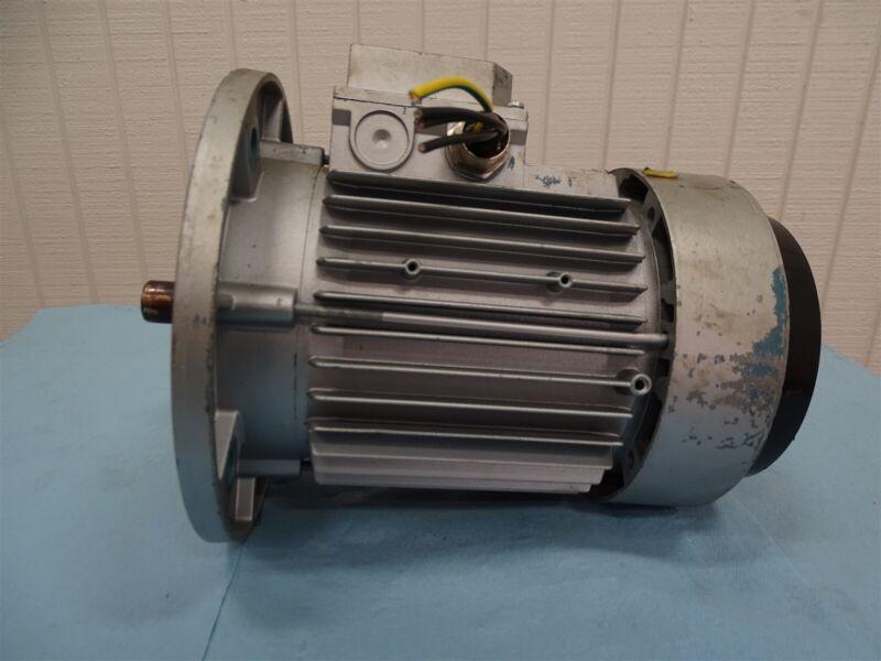 ABB Motori MU80B19F165-4 Motor 0.75-0.90kW 1380-1690RPM 3HP 50/60Hz