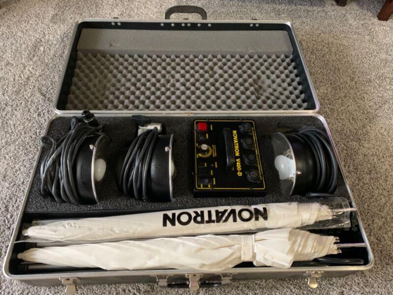 novatron v400-D light kit
