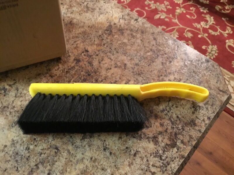 Lot Of 6 Rubbermaid FG634100BLA Black Tampico Bristle 12 In. Counter Brush