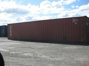 "40ft Used Shipping Container - 8'6"" TAX DEDUCTIBLE ! 20' 40' Sydney City Inner Sydney Preview"