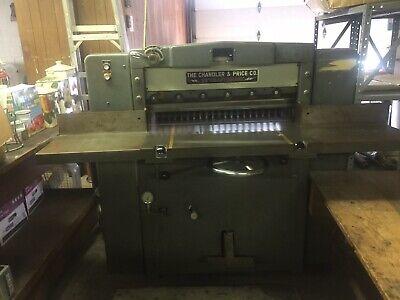 Chandler Price 32 Hydraulic Paper Cutter