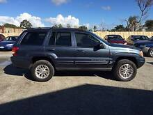 2003 Jeep Grand Cherokee 4x4 Wagon Silver Sands Mandurah Area Preview