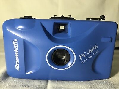 35-мм камеры PREMIUM PC-606 BLUE 35MM