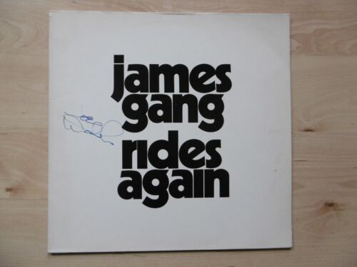 "Joe Walsh ""Eagles"" Autogramm signed LP-Cover ""James Gang - Rides Again"" Vinyl"