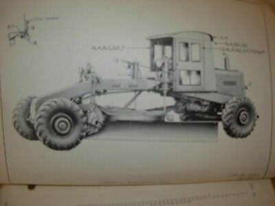 Austin Western 99m Power Grader Parts Manual Includes Attachments