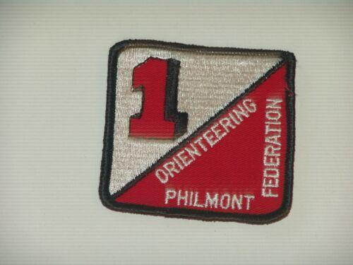 Philmont Orienteering Federation patch