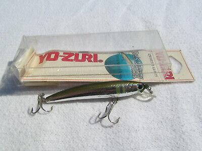 """Yo-zuri Pin/'s Minnow Greenback  2 3//4/"""" 1//8 oz floating  F197-M pins Lure"""