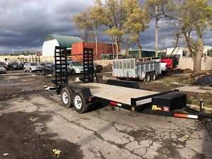 Flatbed delivery and floating service