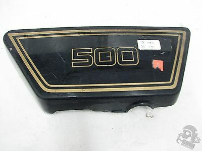 1978 <em>YAMAHA</em> XS500 RIGHT SIDE COVER FRAME COVER 1A8 21721 00 R7 4