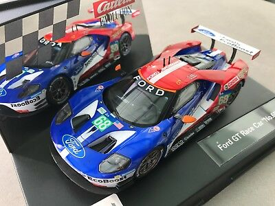 "Carrera Evolution 20027533 27533 Ford GT Race Car "" No. 68 "" NEU OVP"