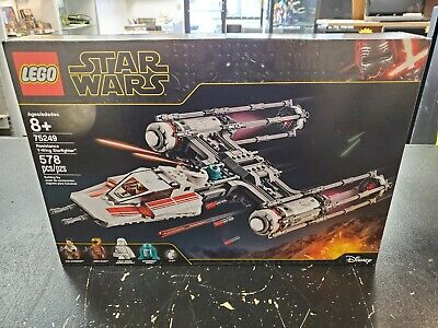 Lego Star Wars : Resistance Y-Wing Starfighter (75249) NEW FREE SHIPPING