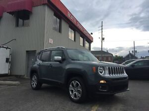 2017 Jeep Renegade Limited LEATHER/ NAV/ 4X4/ SUNROOF