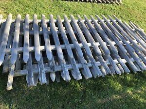 Fence panels 4' x 8'