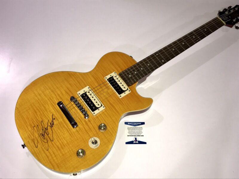 Slash Signed Autographed Appetite For Destruction Guitar Guns N' Roses BAS Rare