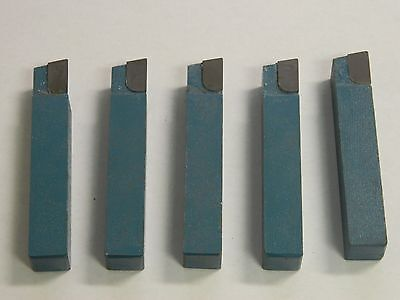 Phase Ii 2036-6211 Carbide Tip C6 Single-point Tool Bit Box Of 5 Usa
