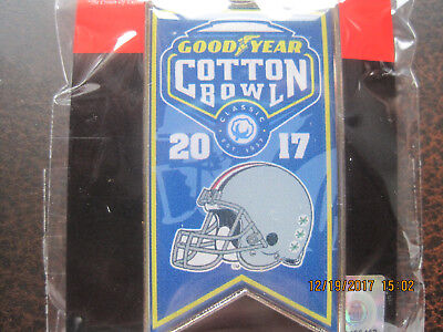 2017 Cotton Bowl  Ohio State Buckeyes Helmet Banner Lapel Pin